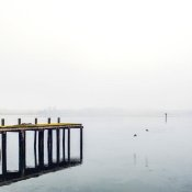 Brookview Studio - Foggy Pier