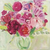 Farida Zaman - Pink and Red Florals