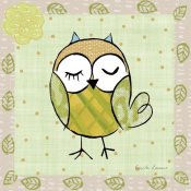 Farida Zaman - Whimsy Owls II