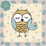 Farida Zaman - Whimsy Owls IV