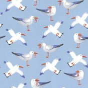 Farida Zaman - Coastal Birds Pattern II