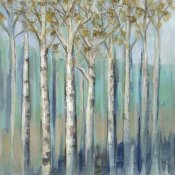 Silvia Vassileva - Birches at Dawn