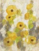 Silvia Vassileva - Floating Yellow Flowers II