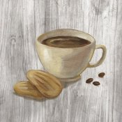 Silvia Vassileva - Coffee Time II on Wood
