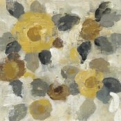 Silvia Vassileva - Neutral Floral Beige II Yellow Flowers