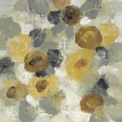 Silvia Vassileva - Neutral Floral Beige III Yellow Flowers