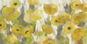 Silvia Vassileva - Floating Yellow Flowers I Crop
