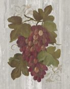 Silvia Vassileva - Autumn Grapes I on Wood