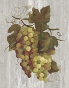 Silvia Vassileva - Autumn Grapes IV on Wood
