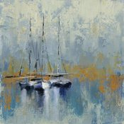 Silvia Vassileva - Boats in the Harbor III