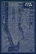 Sue Schlabach - Blueprint Map New York