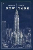 Sue Schlabach - Blueprint Map New York Chrysler Building