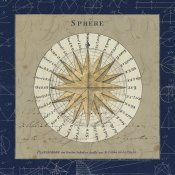 Sue Schlabach - Sphere Compass Blue