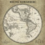 Sue Schlabach - French World Map III