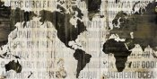 Sue Schlabach - Crate World Map Neutral