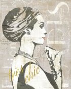Sue Schlabach - Fashion Week Paris Screenprint III