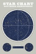 Sue Schlabach - Southern Star Chart Blue Gray