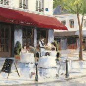 James Wiens - Relaxing at the Cafe I