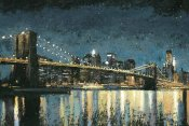 James Wiens - Bright City Lights Blue I