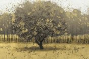 James Wiens - Golden Trees I Taupe