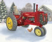 James Wiens - Christmas in the Heartland III Red Tractor