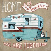 Mary Urban - Adventure Love Camper Taupe