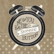 Mary Urban - The Snooze Button Taupe