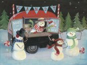 Mary Urban - Christmas on Wheels I