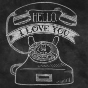 Mary Urban - Hello I Love You Chalk