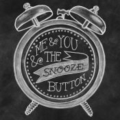 Mary Urban - The Snooze Button Chalk