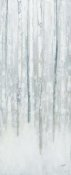 Julia Purinton - Birches in Winter Blue Gray Panel II