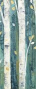 Julia Purinton - Birches in Spring Panel II