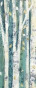 Julia Purinton - Birches in Spring Panel III