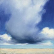 Julia Purinton - Beach Clouds I