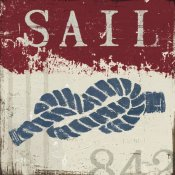 Wellington Studio - Nautical III Red