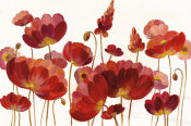 Silvia Vassileva - Red Flowers on White Crop