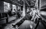 Marco Tagliarino - By train around Yangon