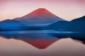 Abe Muneo - A Quiet Time - Mt. Fuji In Japan