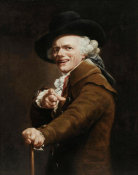 Joseph Ducreux - Portrait of the Artist as a Mocker