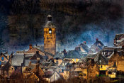 Alain Mazalrey - Mountain Village In France