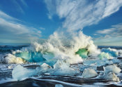 Frank Krahmer - Waves breaking, Iceland