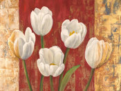 Jenny Thomlinson - Tulips on Royal Red