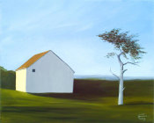 Emmeline Craig - Barn with Tree