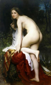 William-Adolphe Bouguereau - Baigneuse