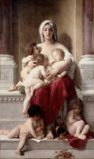 William-Adolphe Bouguereau - Charity