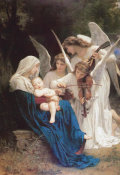 William-Adolphe Bouguereau - Song of the Angels, 1881