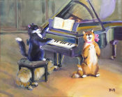 Tummy Rubb Studio - Cat Concert