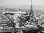 Anonymous - Airplane over Paris