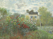Claude Monet - The Artist's Garden in Argenteuil