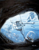 Mort Kunstler - Treasures of the Sea